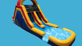 Image of a 18ft Caribbean Double Lane Slide