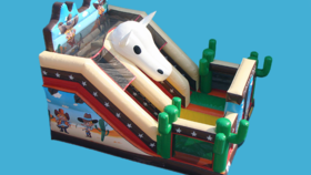 Image of a 18ft Cowboy Slide (Dry)