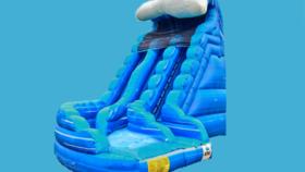 Image of a 22ft Monster Wave Double Lane Slide