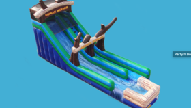 Image of a 22ft Rocking Rapids Slide (Wet or Dry)