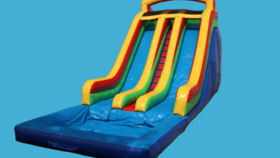 Image of a 24ft Screamer Double Lane Slide