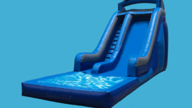 Image of a 25ft Dolphin Slide (With or For Pool)