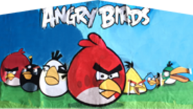 Image of a Angry Birds Banner