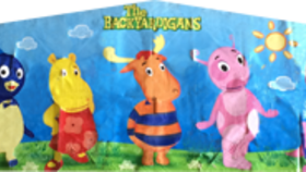 Image of a Backyardigans Banner