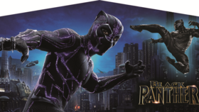 Image of a Black Panther Banner