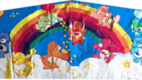 Image of a Care Bears Banner