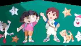 Image of a Dora Diego Banner