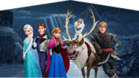Image of a Frozen Banner