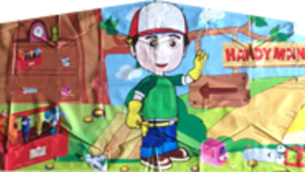 Image of a Handy Manny Banner