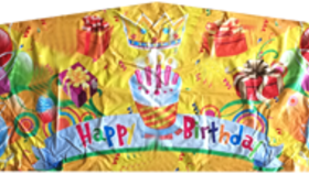 Image of a Happy Birthday Banner