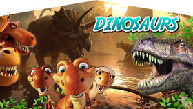 Image of a Dinosaur Banner