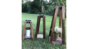 Image of a Lanterns Wood Set/3