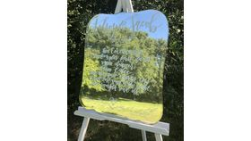 Image of a Mirror Large w/ Easel
