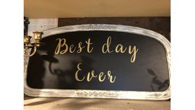 Image of a Best Day Ever Signage