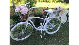"""Image of a Bicycle """"Peony"""" Decorated"""
