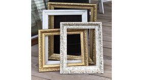 Image of a Picture Frames White No Glass Small