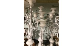 Image of a Candelabras White