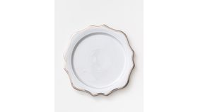 Image of a Anna's Antique Charger Plate | Platinum
