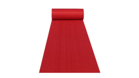 Image of a 10ft Red Carpet