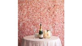 Image of a 04 - Flower Wall Blush 10'x8'