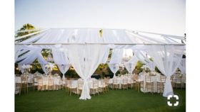 Image of a 18 - Tent Draping