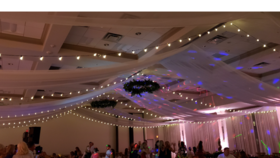 Image of a Ceiling Draping Flat Waves