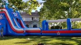Image of a Patriot Water Slide
