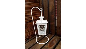 Image of a Lanterns Small Hanging White