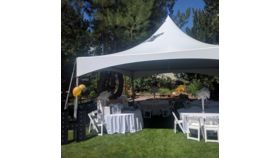 Image of a 20x20 Party Tent