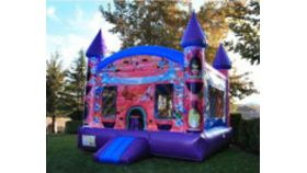 Image of a Princess Bounce house