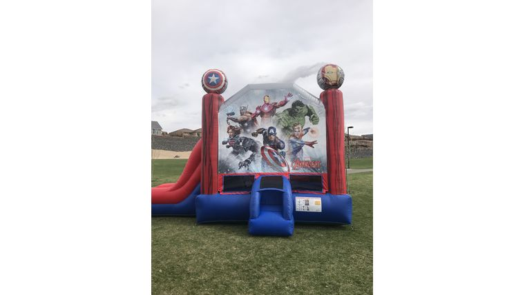 Picture of a Avengers Combo Slide