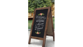 Image of a A-Frame Chalkboard