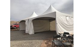 Image of a Tent Wall; Solid