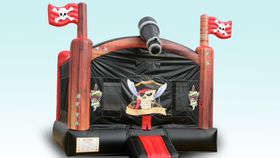 Image of a Pirate Bounce house