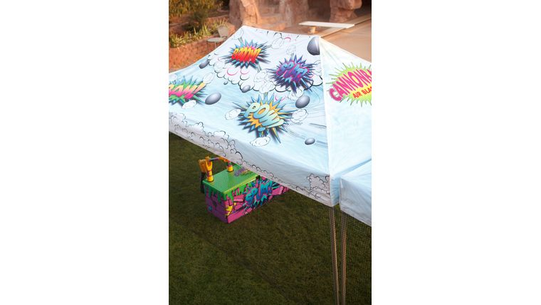 Picture of a Air Blasters Printed Canopy Top 10x15