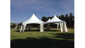 Image of a Tent Drapery