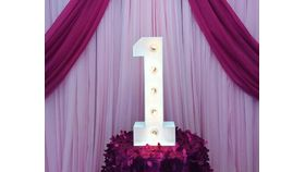 """Image of a #1 MARQUEE NUMBER LED 28"""""""