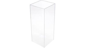 Image of a Clear Acrylic Column 3ft