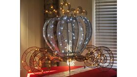 Image of a 5 ft LED Princess Carriage