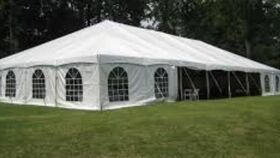 Image of a Outdoor Use for Tented Wedding or Events