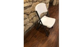Image of a Lifetime Plastic Resin Folding Chair