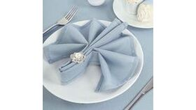 """Image of a Dusty Blue 17"""" x 17"""" Napkins"""