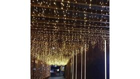 Image of a Starry Lighted Ceiling