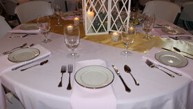 Image of a Silver Metal Forks, Knives & Spoons