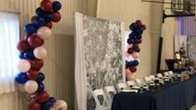 Image of a Balloon Backdrop