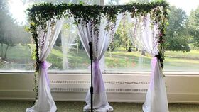 "Image of a White Curtains(96"")"