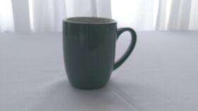 Image of a Grey Ceramic Coffee Mug