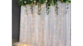 Image of a 8' x 8' Lighted Backdrop