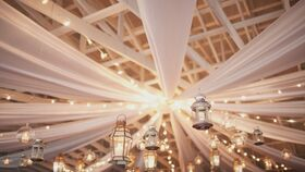 Image of a 260' Ceiling Draping