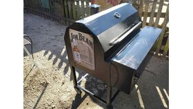 Image of a Commercial Smoker A.K.A Smokin' Shirley